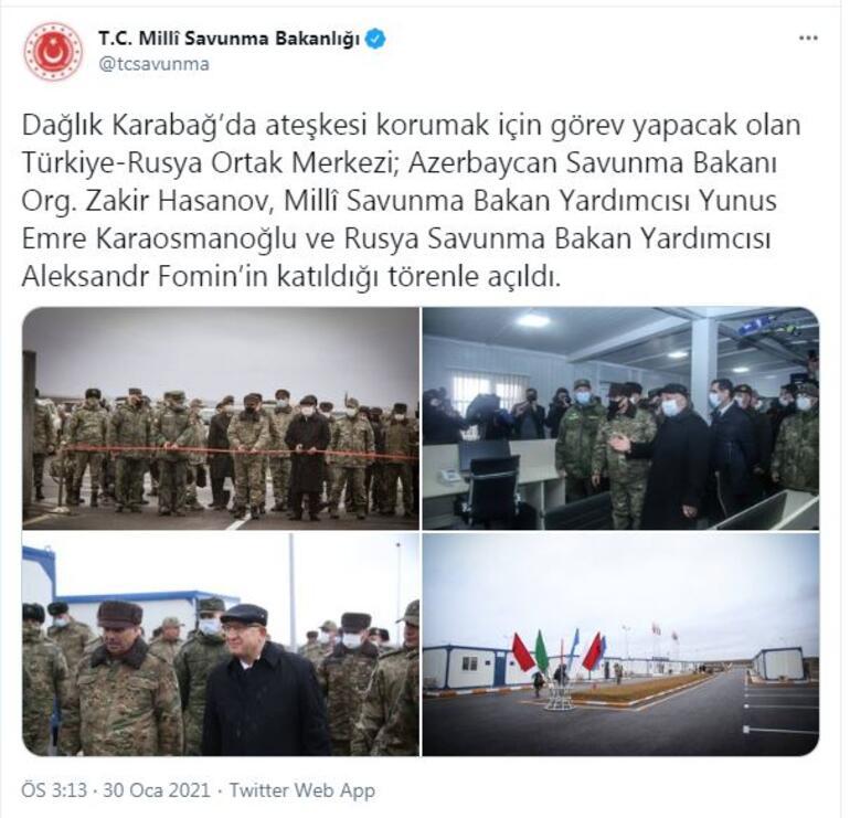 Aliyevden Erdoğana tebrik... Resmen faaliyete başladı