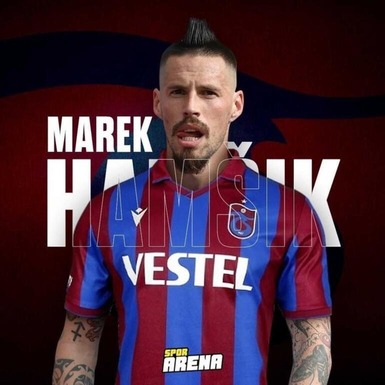 Son dakika transfer haberi: Marek Hamsik, Trabzonspor'la sözleşme imzaladı Sürpriz video ile duyurulacak... Hamsikin forma numarası...