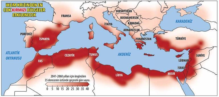 Küresel ısınmanın savunmasız merkezi: Akdeniz